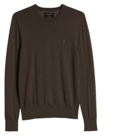 All Saints Other - All Saints 'Mode Merino Crew'